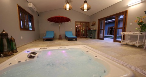 Hidromassagem Thermas Park Resort e Spa